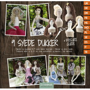 Image of   9 Syede Dukker - Bog fra Go Handmade
