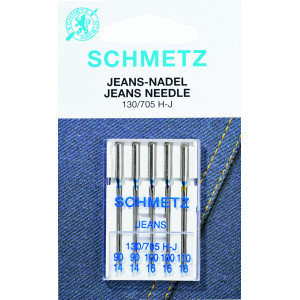 Schmetz Symaskinnåle Jeans 100 - 5 stk