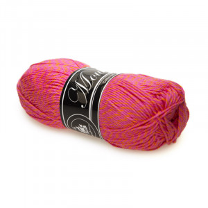 Mayflower Cotton 8/4 Mouliné Garn Mouline 5002 Pink/Orange
