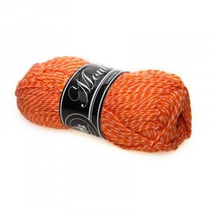 Image of   Mayflower Cotton 8/4 Mouliné Garn Mouline 5003 Orange/Hvid