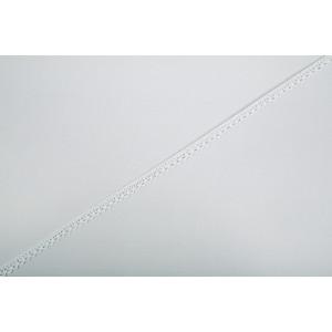 Boutique Blondebånd Hvid 5m 10mm