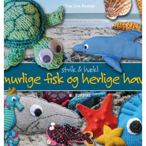 Finurlige fisk og herlige havdyr - Bog af Tine Lise Roskær