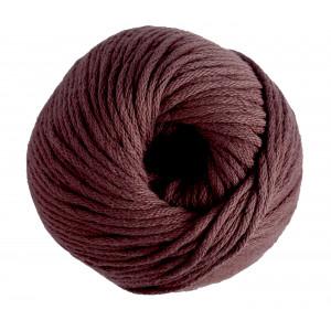 DMC Natura XL Garn Unicolor 111 Rødbrun