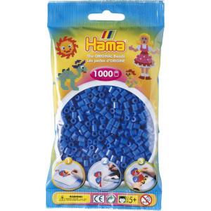 Hama Midi Perler Lyseblå 1000 stk