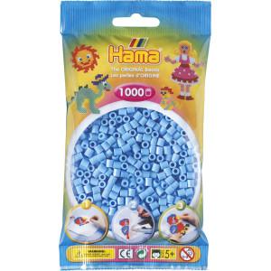 Hama Midi Perler 207-46 Pastel Blå - 1000 stk