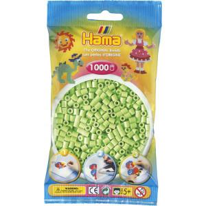 Hama Midi Perler Pastel Grøn 1000 stk