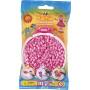 Hama Midi Perler 207-48 Pastel Pink - 1000 stk