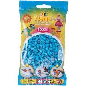 Hama Midi Perler 207-49 Azurblå - 1000 stk