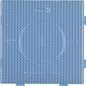 Hama Midi Perleplade Samleplade Firkant Transparent 14,5x14,5cm - 1 st