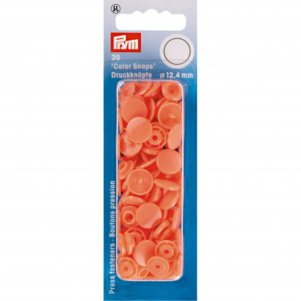 Image of   Prym Color Snaps Trykknapper Plast Rund Laks 12,4mm - 30 stk