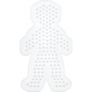 Hama Perleplade Dreng Hvid - 1 stk