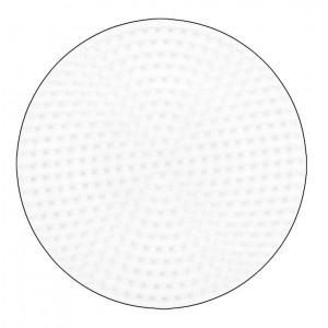 Hama Perleplade Rund Mellem Hvid 12cm - 1 stk
