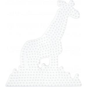 Hama Perleplade Giraf Hvid - 1 stk