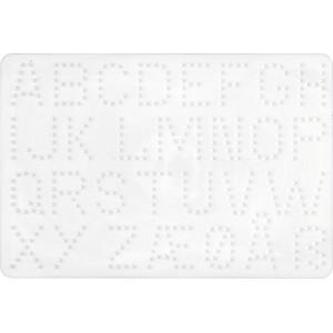 Hama Perleplade Bogstaver Hvid - 1 stk