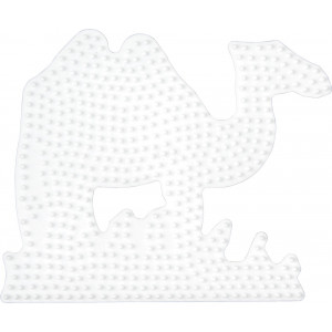 Hama Perleplade Kamel Hvid - 1 stk