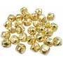 Infinity Hearts Bjælde / Rasleklokke 30mm Guld - 30 stk