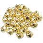 Infinity Hearts Bjælde / Rasleklokke 25mm Guld - 30 stk