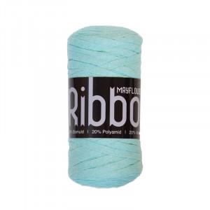 Mayflower Ribbon Stofgarn Unicolor 123 Mintgrøn
