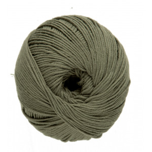 DMC Natura Just Cotton Garn Unicolor 46 Oliven