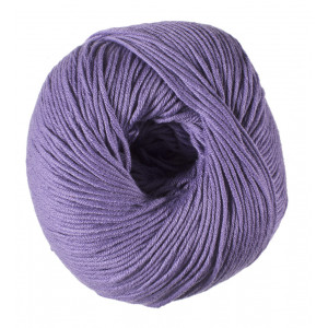 DMC Natura Just Cotton Garn Unicolor 88 Lavendel