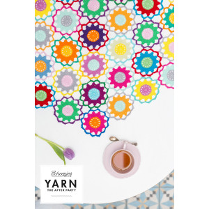 Scheepjes The Garden Room Tablecloth Bright CAL - Dug Hæklekit 124 cm