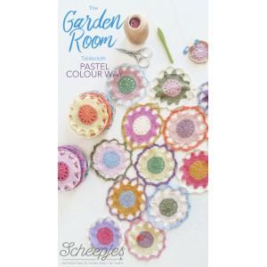 Scheepjes The Garden Room Tablecloth Pastel CAL - Dug Hæklekit 124 cm