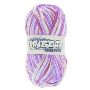 Distrifil Tricot Multico Garn Print 0007 Lilla
