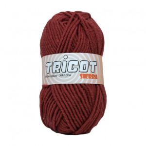 Distrifil Tricot Sierra Garn Unicolor 123 Rustrød