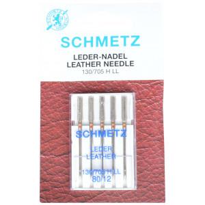 Schmetz Symaskinnåle Læder 80 - 5 stk