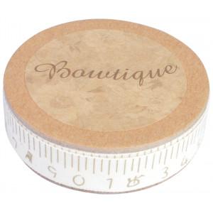 Boutique Boutique bånd håndskrevet målebånd 5m 15mm fra rito.dk