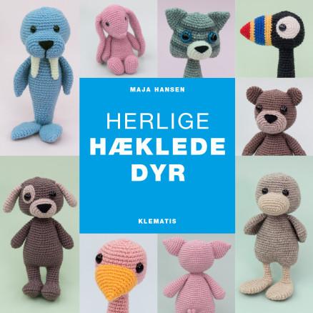 Image of   Herlige hæklede dyr - Bog af Maja Hansen