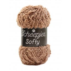 Scheepjes – Scheepjes softy garn unicolor 480 lysebrun fra rito.dk