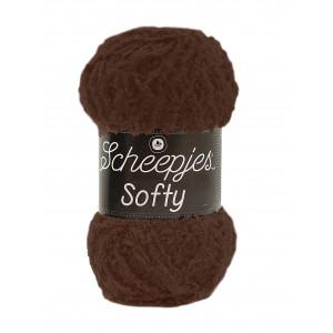 Scheepjes Scheepjes softy garn unicolor 474 brun fra rito.dk