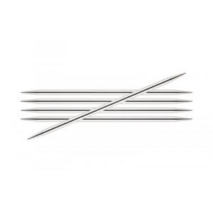 Image of   KnitPro Nova Metal Strømpepinde Messing 15cm 2,25mm / 5.9in US1