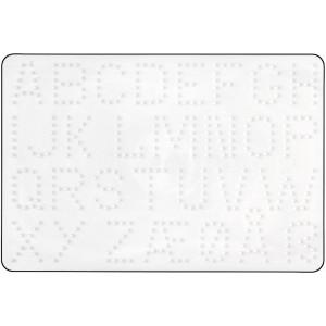 Hama Midi Perleplade Bogstaver Hvid 21,5x14,5cm - 1 stk