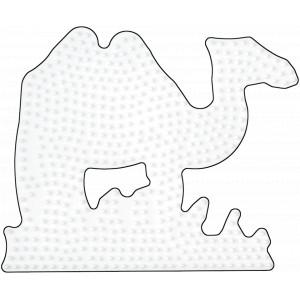 Hama Midi Perleplade Kamel Hvid 16x13cm - 1 stk
