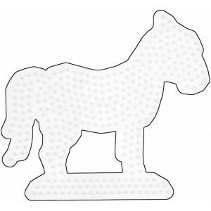 Hama Midi Perleplade Hest Hvid 15x13,5cm - 1 stk