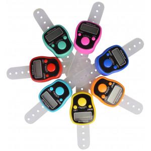 Infinity Hearts Digital omgangstæller / pindetæller med lys Ass. farver - 1 stk