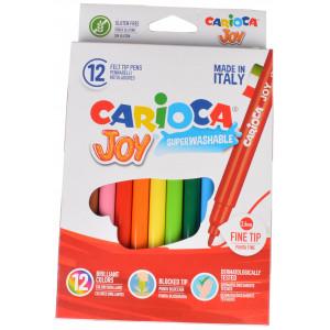 Carioca Tuscher/Tusser Ass. farver - 12 stk