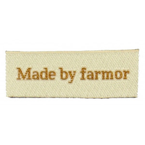 Image of   Label Made by Farmor Sandfarve