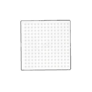 Hama Midi Perleplade Firkant Hvid 7,5x7,5cm - 1 stk
