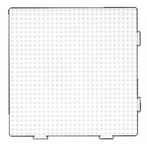 Hama Perleplade Samleplade Firkant Hvid 15x15cm - 1 stk