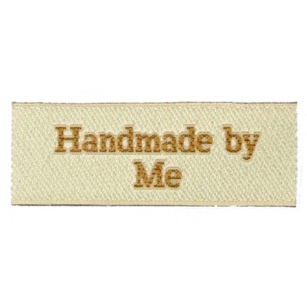 Label Handmade by Me Sandfarve thumbnail