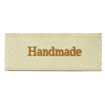 Image of   Label Handmade Sandfarve