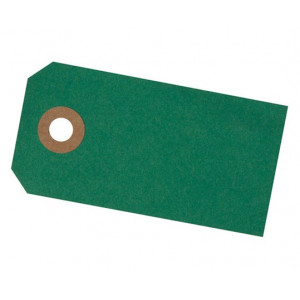 Paper Line Manillamærker Grøn 4x8cm - 10 stk