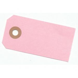Paper Line Manillamærker Lyserød 4x8cm - 10 stk