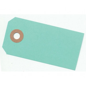 Paper Line Manillamærker Mint Grøn 4x8cm - 10 stk