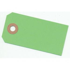 Paper Line Manillamærker Lime Grøn 4x8cm - 10 stk