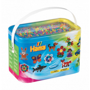 Hama Midi Perler 202-50 Pastel Mix 50 - 10.000 stk