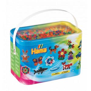 Hama Midi Perler 202-51 Neon Mix 51 - 10.000 stk
